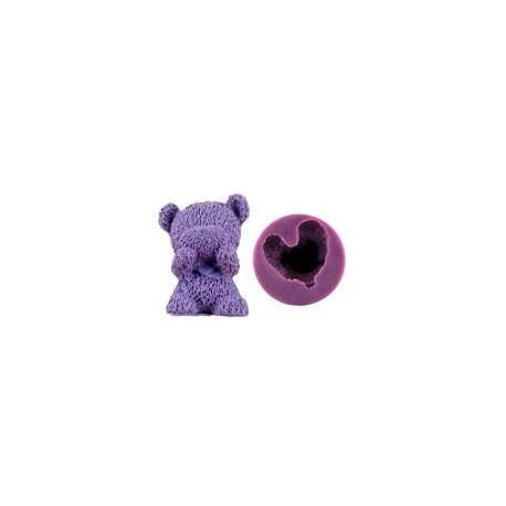 Silikonform - Teddybär 3D