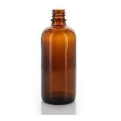 Skleněná lahvička, lékovka 100ml bez uzávěru