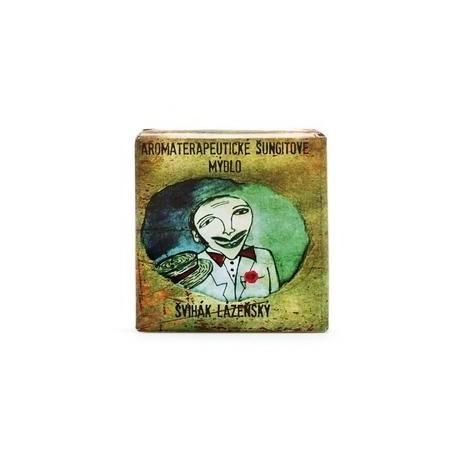 Šungitové mýdlo Švihák lázeňský  - přírodní mýdlo