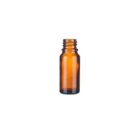 Glasflasche, Flasche, braun 10ml
