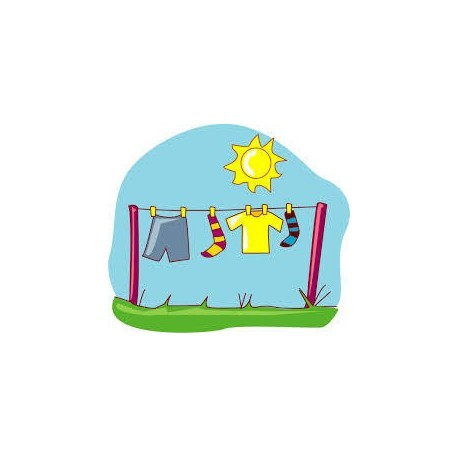 Set zur Herstellung von Waschpulver (trockene Variante) - für Farbe und Weiß