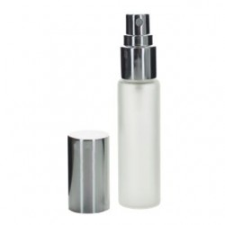 Obal na parfémy, 10ml, sklo natural