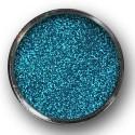 Glitter (třpytky) použití do laku na nehty, modrá laguna