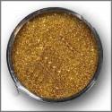 Glitter (třpytky) použití do laku na nehty, zlatá