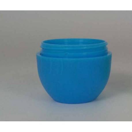 MINI kapesní vajíčko na balzámy na rty barva modrá