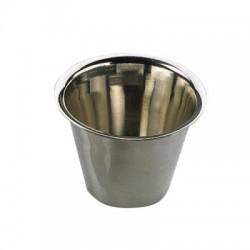 Skleněný obal, miska (na svíčku)