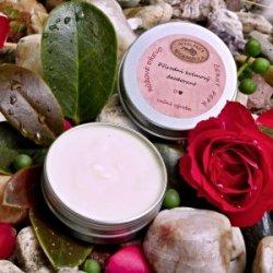 Přírodní krémový deodorant – RŮŽOVÉ DŘEVO a ČERNÝ PEPŘ