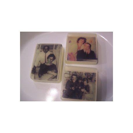 Papír pro přenos obrázku, fotky na mýdlo