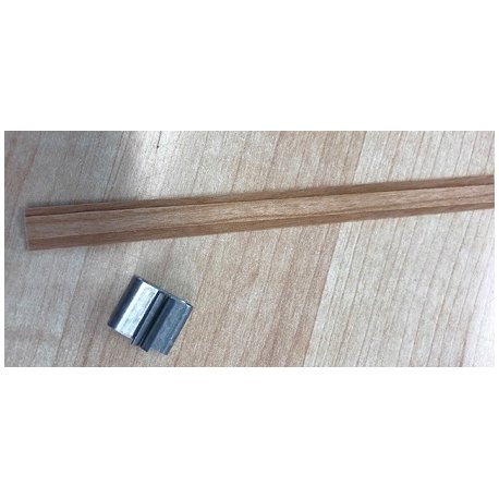 Dřevěné knoty s plíškem