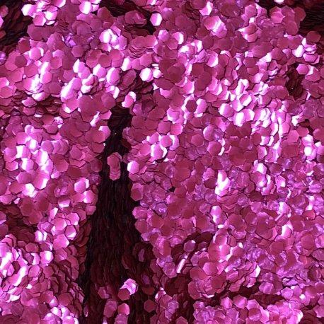 Bioglitter® Tmavá růže velké třpytky 094
