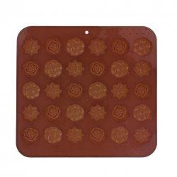 Form von Silikon für Schokolade