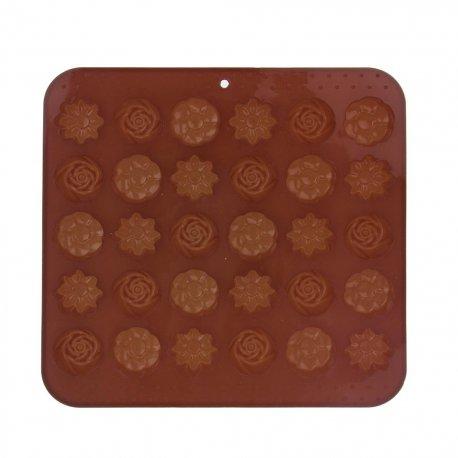 Forma silikon na čokoládu KYTIČKY 30