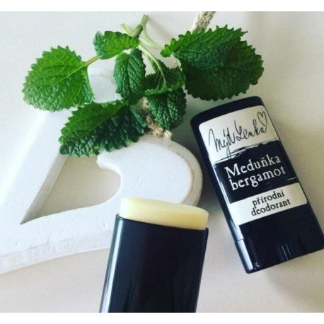 Přírodní deodorant Meduňka a bergamot