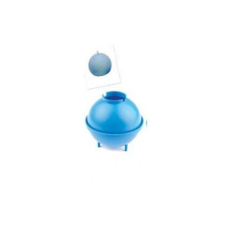 Modré formy na svíčku - válec 1kus