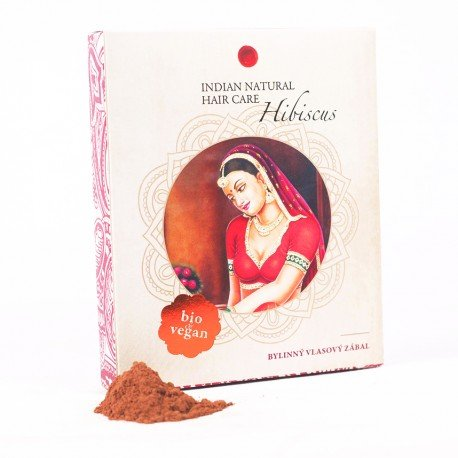 Hibiscus 200g - vlasový zábal