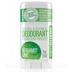Deoguard tuhý přírodní deodorant - BERGAMOT A LIMETKA