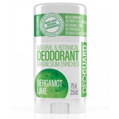 Natürliches festes Deodorant - Bergamont und Limette