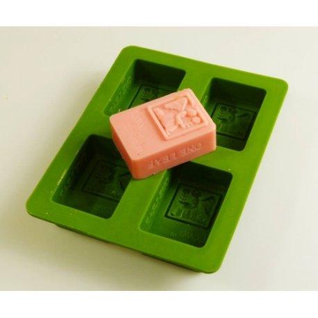 Silikonform für Schokolade oder Seife - Fee
