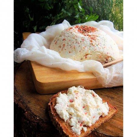 Käse Baumwollschal, 1 Stück