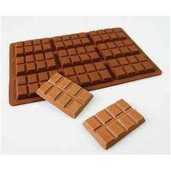 Silikonová forma na devět čokoládek