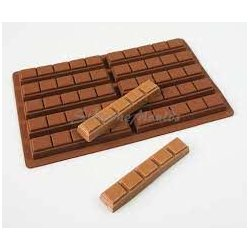 Forma na čokoládové tyčinky