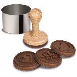 Silikonform für Schokolade oder Seife - 12x kleine Schokolade