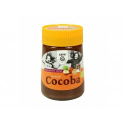 BIO Nougatcreme Cocoba, Glas
