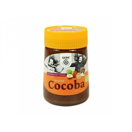 BIO nugátový krém Cocoba, sklo