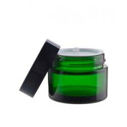 Zelený skleněný obal, 50ml