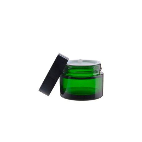 Grüner Glasbehälter, 50 ml