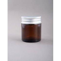 30ml sklo, hnědý s hliníkovým víčkem
