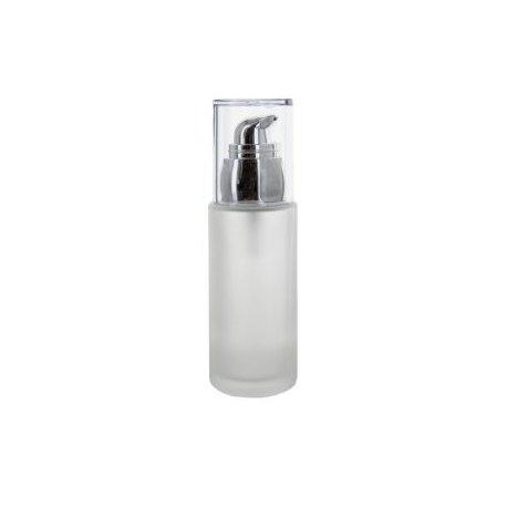 Skleněná lahvička 50ml s pumpou