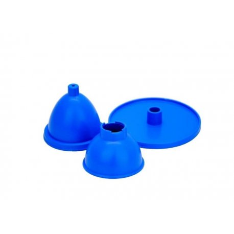 Plastikform für Kerzen, Eiform
