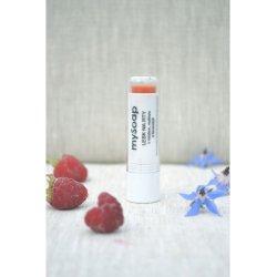 Lipgloss mit Honig, Himbeeren und Lavendel