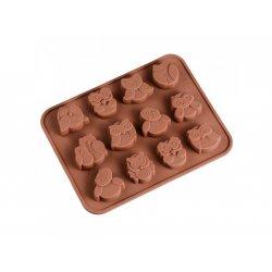 Silikonform für Schokolade oder Seife - Sternchen