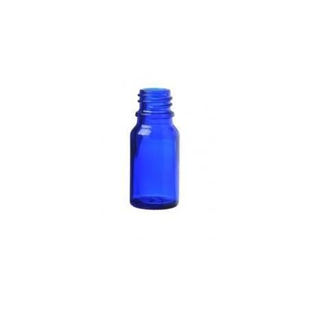 Skleněná lahvička, MODRÁ, 10ml