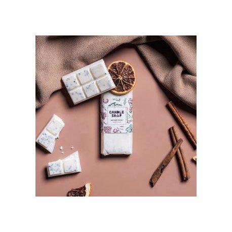 Aromawachs, Soja, in Form von Schokolade