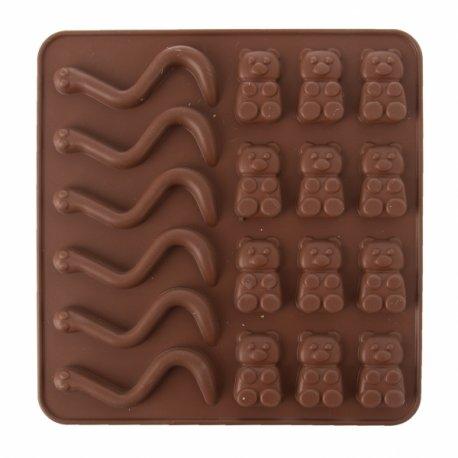 Čokoládová forma na pralinky