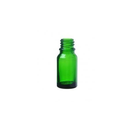 Skleněná lahvička, zelená 10ml