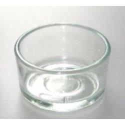 Glasschale für Teekerzen