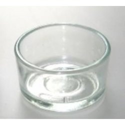 Skleněná miska na čajové svíčky