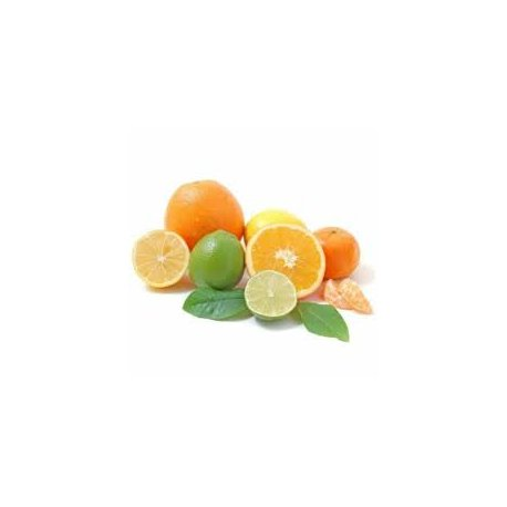 Limetka, bazalka a mandarinka