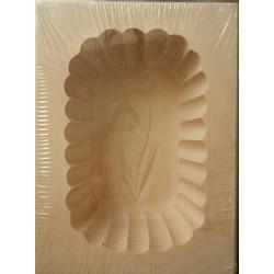 Dřevěná forma na máslo - 125g