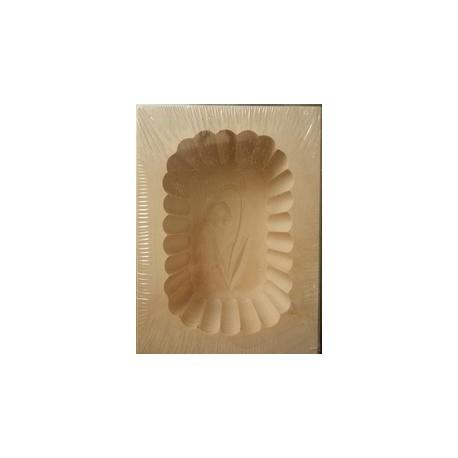 Holzform für Butter - 125g