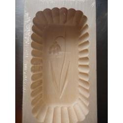 Dřevěná forma na máslo - 250g