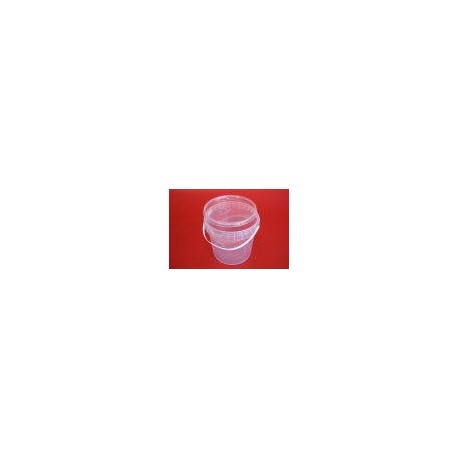 Kyblík s víčkem - plast
