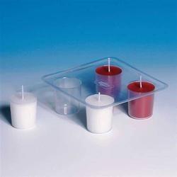 Form für vier Kerzen - Kunststoff