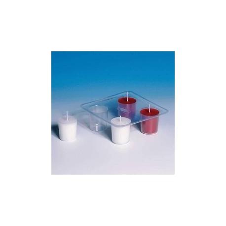 Forma na čtyři svíčky - plastová