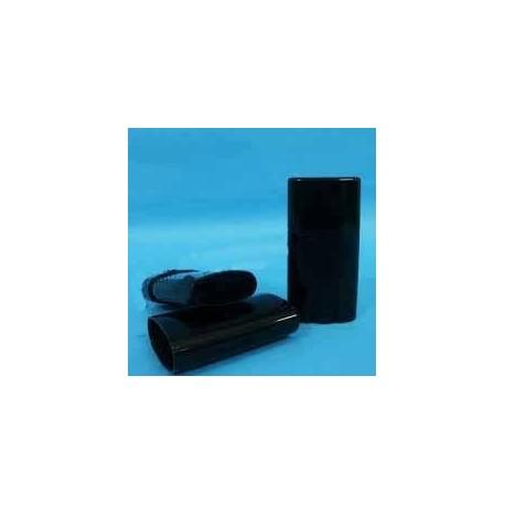 Obal pro tuhé deodoranty, 15 ml černý, placatý