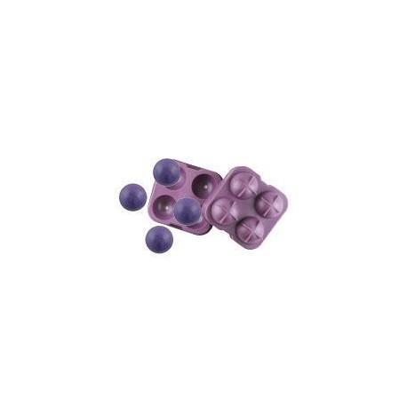 Forma na mýdla nebo šumivky - 4x koule